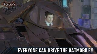 FR MOD; Batman; Arkham Knight; Everyone Can Drive The Batmobile!