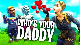 Fortnite WHO'S YOUR DADDY! NEUE MAMA?? 😍 - mit Rewinside & Alphastein