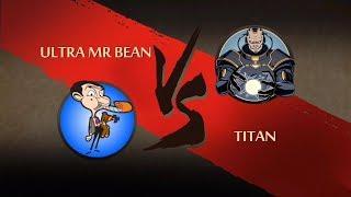 Shadow fight 2 ultra mr bean vs titan