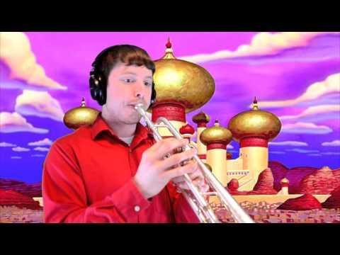 "Prince Ali (from Disney's ""Aladdin"") Trumpet Cover"
