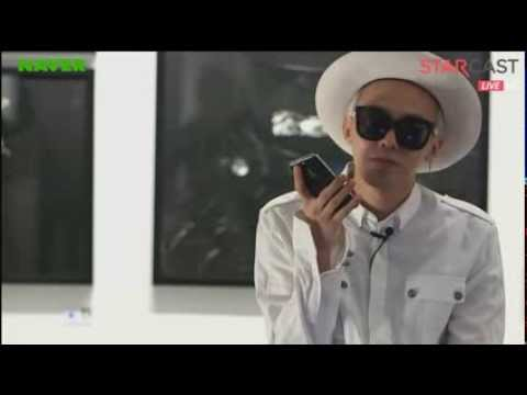 130916 GD Calls Seungri - Naver Starcast