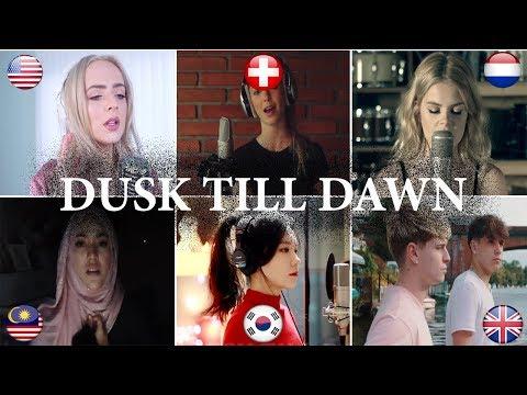 Who is better: ZAYN - Dusk Till Dawn ft. Sia Covers (Malaysia, Netherlands, USA, UK, Swiss, S-Korea)