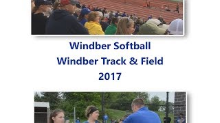 Windber Softball Districts and Track States 2017