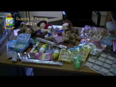 Giocattoli Falsi - Sequestro Natale 2013 a Roma da Finanza