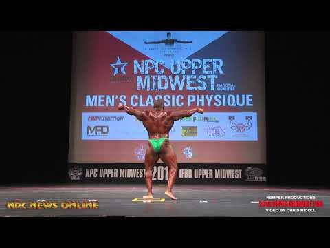 2018 NPC Upper Midwest Classic: Guest Poser IFBB Pro Johnnie Jackson