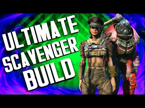 Fallout 4 Builds - The Tinkerer - Ultimate Scavenger Build