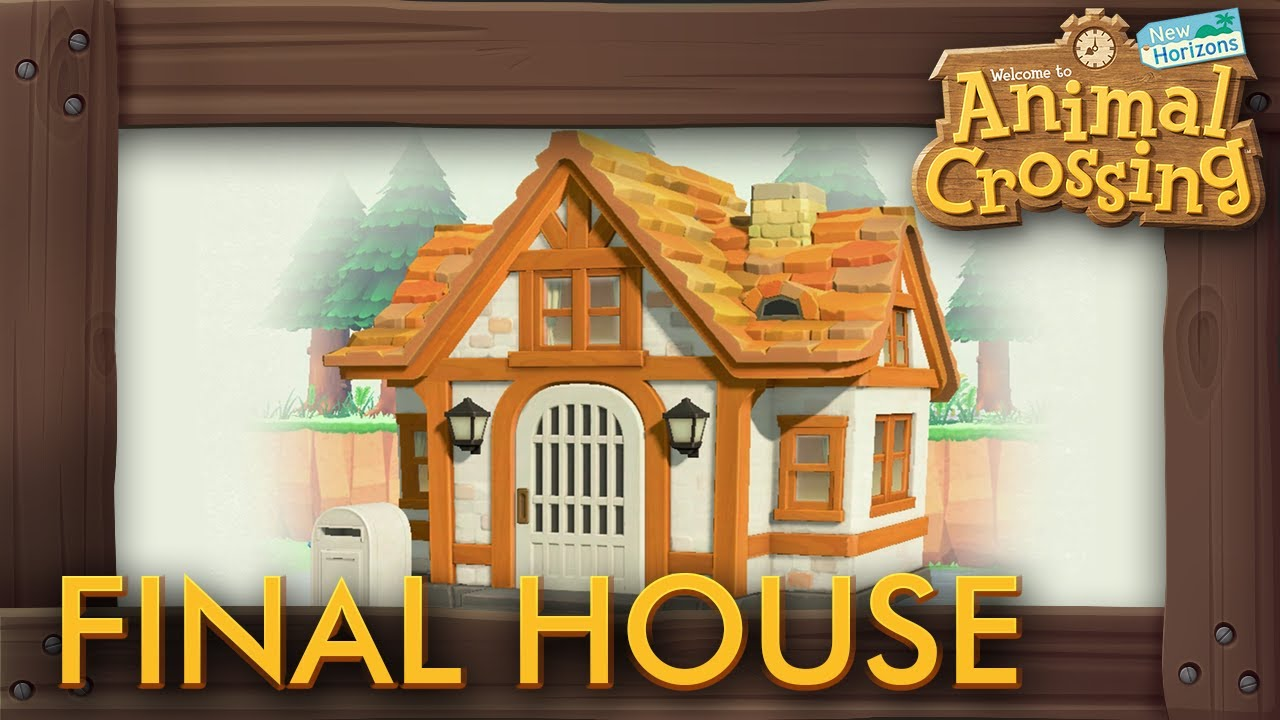 Animal Crossing New Horizons Final House Upgrade Youtube