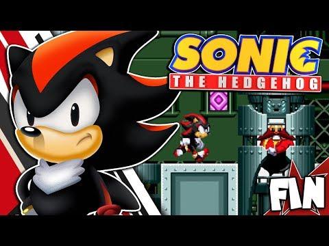 Shadow Plays Sonic The Hedgehog (Classic) FINALE - Star Light Zone & Scrap Brain Zone!