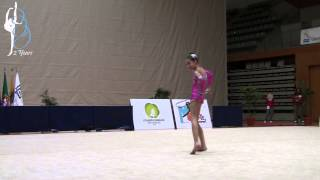 Anais Zach - AGRP - Corda (Rope) - Juvenil - Nacional Base 2014 YouTube Videos