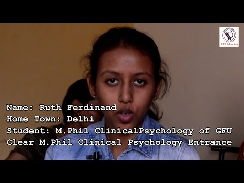 Best Psychology Coaching for M Phil Clinical Psychology Entrance,  MA Psychology Entrance,  UGC NET