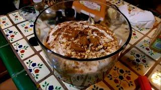 10 Minute Pumpkin Spice Trifle (vegan)