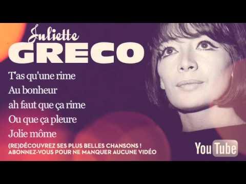 Juliette Gréco - Jolie Môme - Paroles (Lyrics)