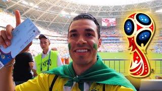Neymar FIFA WM 2018 Tor gegen Mexiko live im Stadion