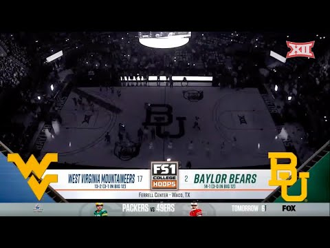 West Virginia Vs Baylor Womens Basketball Highlights
