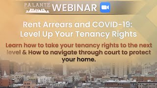 Rent Arrears and COVID-19: Level Up Your Tenancy Rights