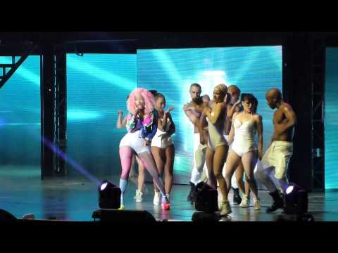 Nicki Minaj, Pound the Alarm, HD, Pink Friday Roman Reloaded Tour, LG Arena, Birmingham UK 27/10/12