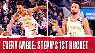 Every Angle: Steph's 1st Bucket Back!
