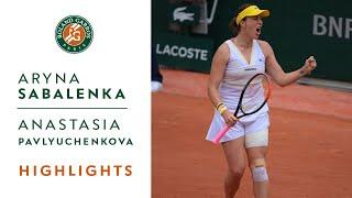 Aryna Sabalenka vs Anastasia Pavlyuchenkova - Round 3 Highlights I Roland-Garros 2021