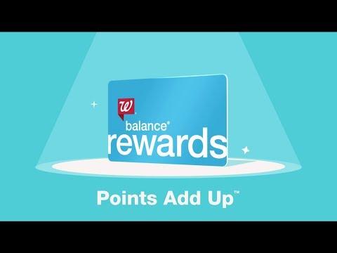 Walgreens   With Balance Rewards, Points Add Up ™