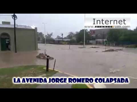 Volvió a colapsar la Av. Jorge Romero