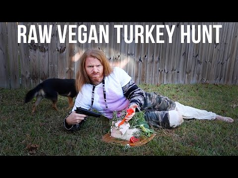 Holiday Turkey Raw Vegan Cooking Show! - Ultra Spiritual Life episode 82
