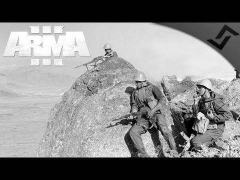 Night Time Camp Raid - ARMA 3 - Zeus Gameplay - Soviet-Afghan War