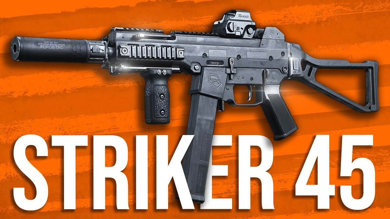 Guerra moderna em profundidade: Striker 45 SMG análise (UMP45) + vídeo