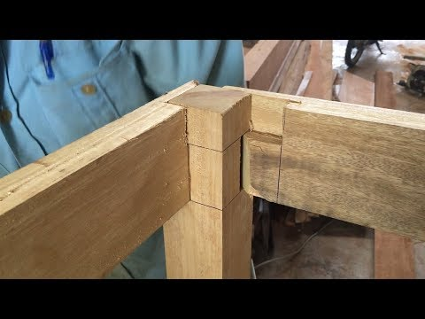Woodworking Techniques and Skills, Joint Smart and Innovative // Make Extremely Large Wooden Table