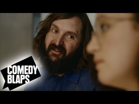 Joe Wilkinson as an Office Cleaner in Workplace Comedy with Rose Matafeo | Temps Ep 3 | Comedy Blaps