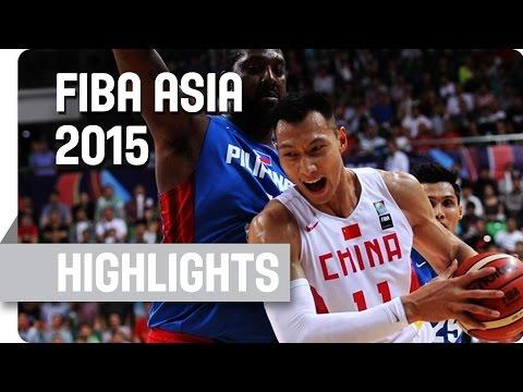 China v Philippines - Final - Game Highlights - 2015 FIBA Asia Championship