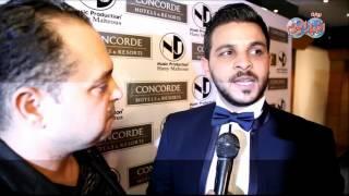"""محمد رشاد نجم """" اراب ايدول """" يحتفل بطرح البومه """" اللي كانوا """" بحضور نجوم الفن"""