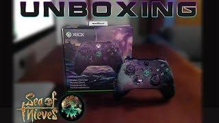 """Unboxing l Control Xbox One l """" Sea of thieves """" Edición Limitada l 1080p Hd"""