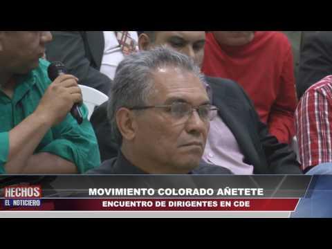 Canal 48 HD - MOVIMIENTO COLORADO AÑETETE-ANR/ENCUENTRO DE DIRIGENTES EN CDE
