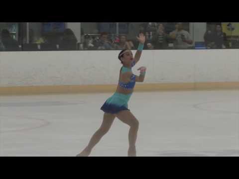 Lesly Angie Prieto Compete USA Palm Beach Ice Works 2017
