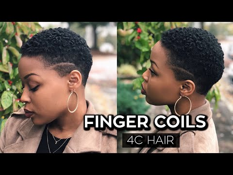 how-to:-finger-coils-on-short-4c-hair/twa