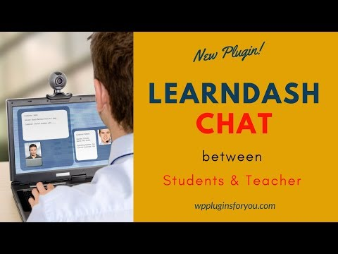 Learndash Chat Wordpress Plugin