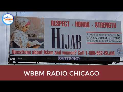 The Hijab Billboard featured on WBBM Rado - Chicago