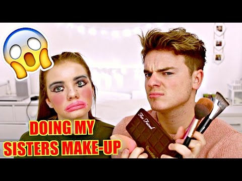 DOING MY SISTERS MAKE UP