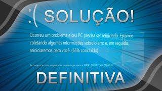 TELA AZUL no Windows 10 - SOLUÇÃO DEFINITIVA PARA TODOS OS ERROS