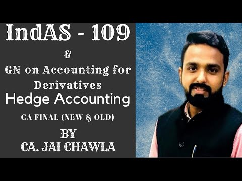 Financial Instruments - Hedge - IndAS 109 (Cash Flow Hedge & Fair Value Hedge) by CA. Jai Chawla