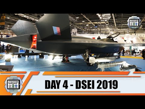 DSEI 2019 International Defense And Security Exhibition London UK Land Zone Show Daily Web TV Day 4