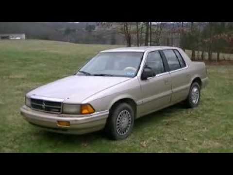 1992 dodge spirit quickrun - YouTube