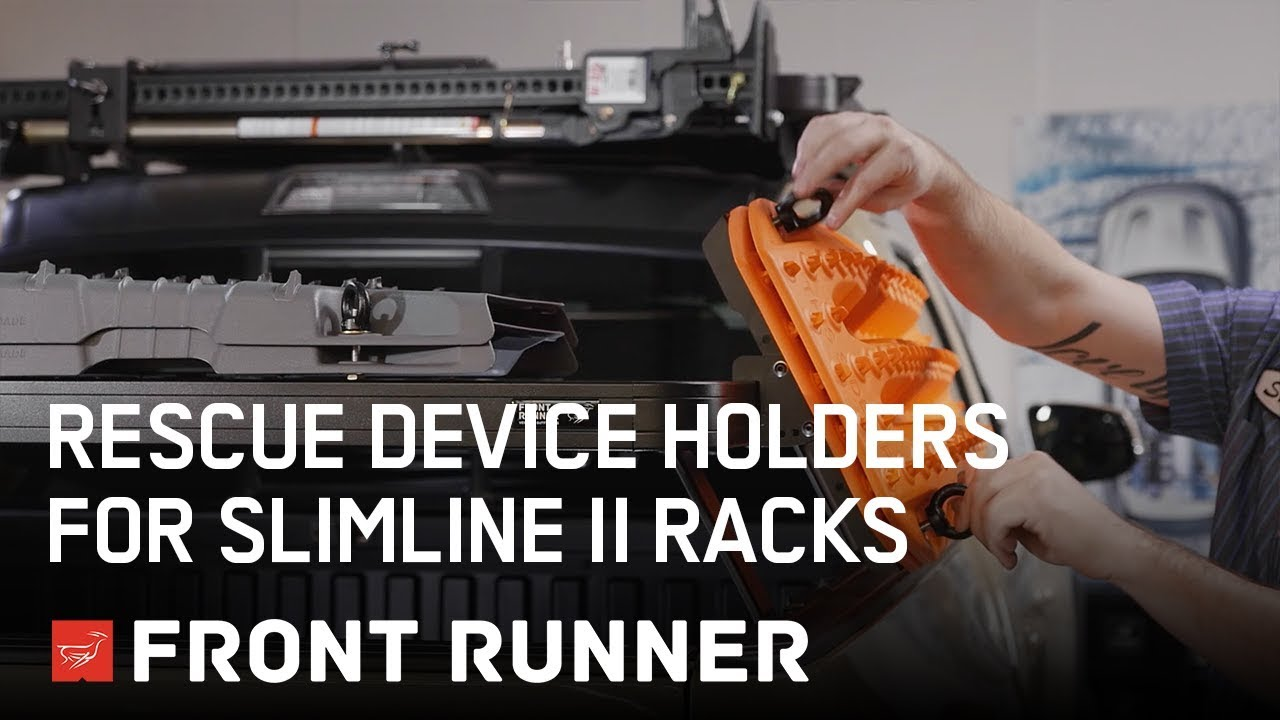 by Front Runner Recovery Device /& Gear Holding Side Brackets