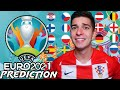 *UPDATED* EURO 2021 PREDICTION