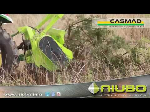 TRITURADORA FORESTAL MINI FOREST NIUBO - BROYEUR FORESTIÈRE - FORESTRY MULCHER