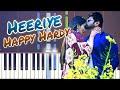Heeriye Song Piano Tutorial - Happy Hardy And Heer | Arijit Singh | Download Free Midi, Sheet Music