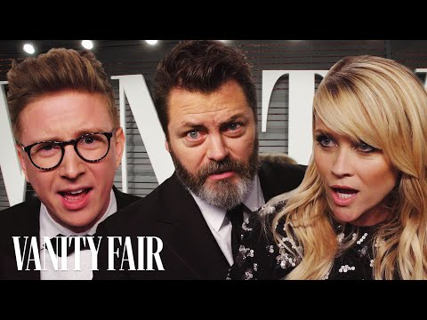 "Thumbnail: Tyler Oakley, Reese Witherspoon, and Nick Offerman Read ""Cash Me Outside How Bow Dah"" 