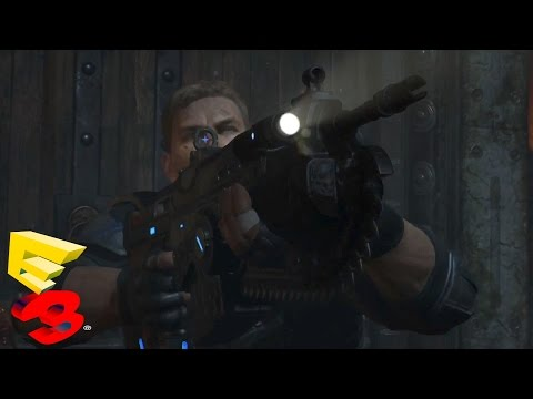 Gears of War 4 Gameplay Trailer - Xbox One Exclusive -  E3 2015 (GoW4) (Gears of War 4)