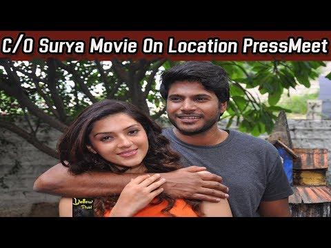 C/o Surya Movie Pressmeet | Sundeep Kishan...