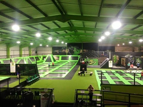 Flip Out Trampoline Park Vlog February 2016